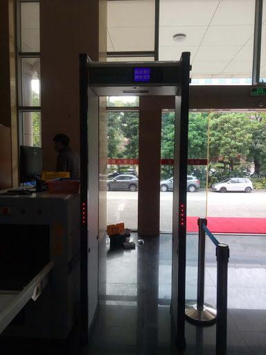 Metal Detector Gate with Temperature 1
