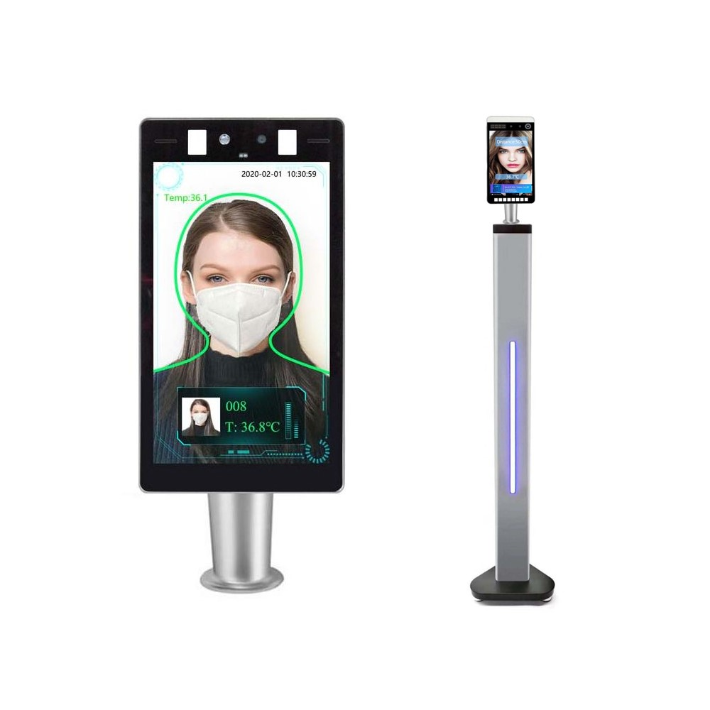 COVID-19 Safety Equipments - Temperature Measuring Face Reader Equipment
